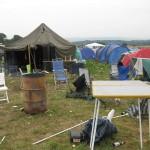 Wild Campen im Gruenen